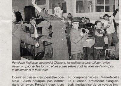 OUEST FRANCE 19 janvier 2012